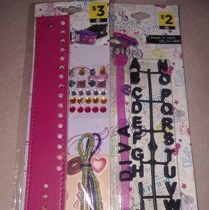 Girl's DIY Bracelet Duet